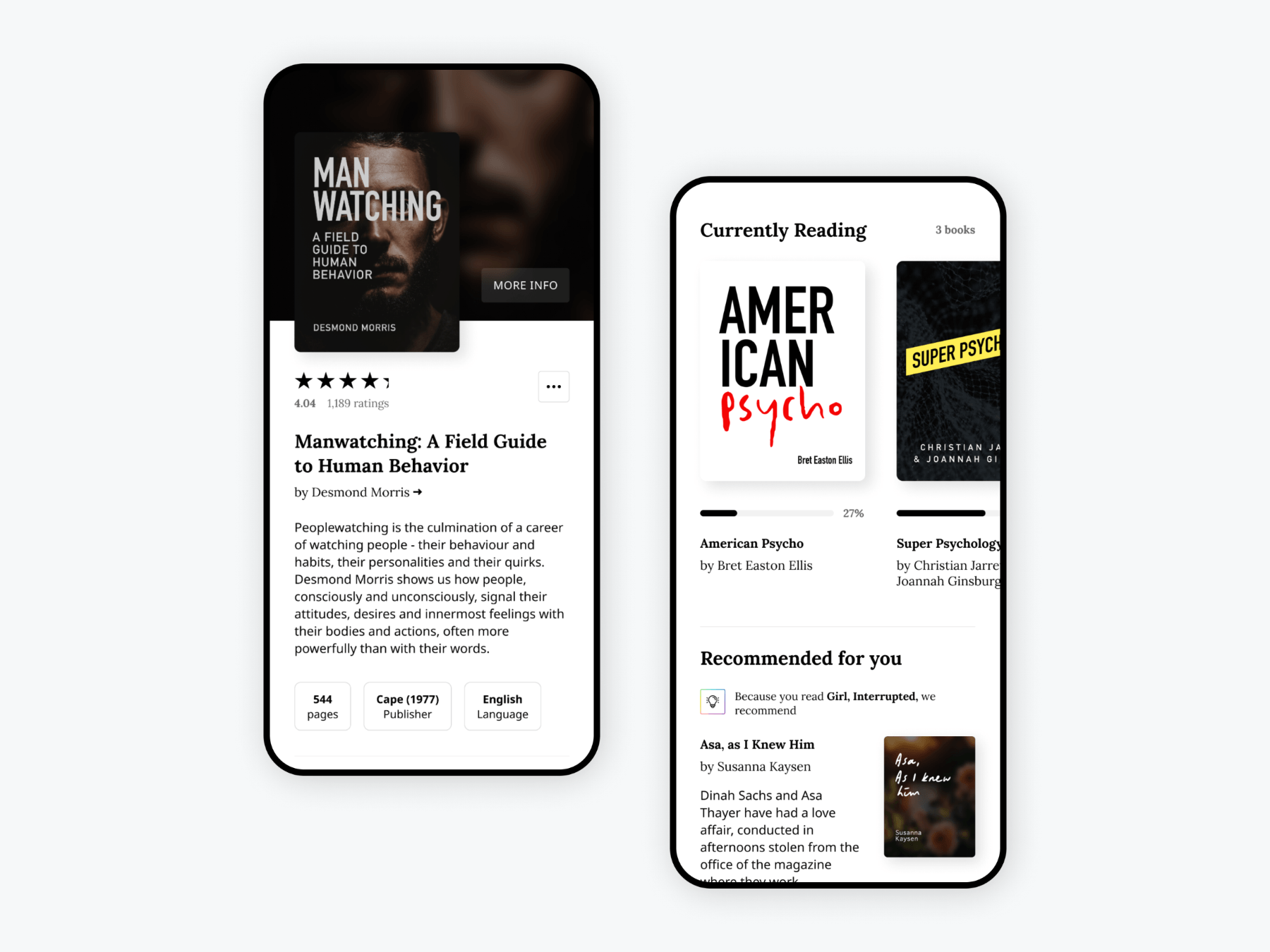 Goodreads Book Reskin